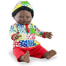 Play dolls niño africano 38cm con ropa