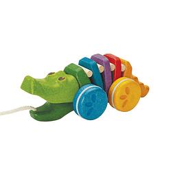 Cocodrilo de arrastre arcoíris