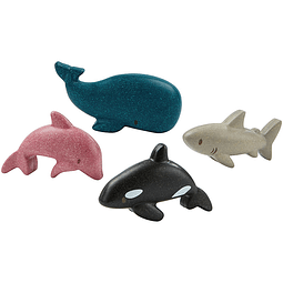 4 Animales marinos