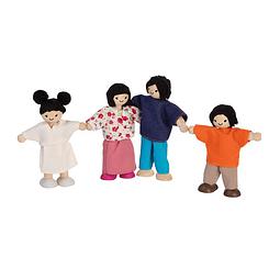 Familia asiática 4pz