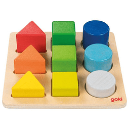 Ordenar colores y formas 9pz