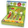 Verduras de la huerta para contar y clasificar 46pz