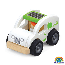 MINI ECO CAR MADERA WW-4045