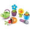 Juego plantar y cultivar flores y vegetales 9pz