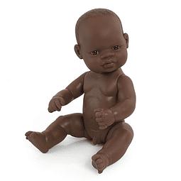 Bebé africano niño de 32cm