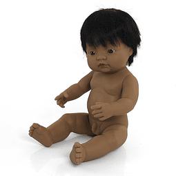 Bebé latinoamericano niño de 38cm