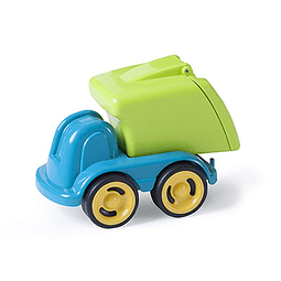 Minimobil dumpy camión de reciclaje