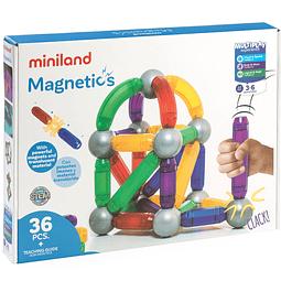 36 Piezas magnéticas