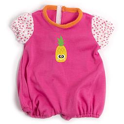 Pijama corto rosa 40cm