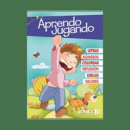APRENDO JUGANDO - TAPA AZUL