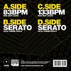 """VINILOS  SERATO 7"""" PERFORMANCE Y SCRATCH EDICION ESPECIAL PRACTICE YO CUTS"""