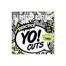 "VINILO SCRATCH 7"" PRACTICE YO CUTS V8 GLOW"
