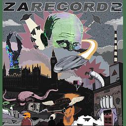 """VINILO SCRATCH 12"""" ZARECORD 2"""