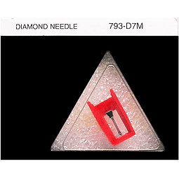 AGUJA 793-D7M COMPATIBLE CON NUMARK PT01 SCRATCH, ENTRE OTRAS..