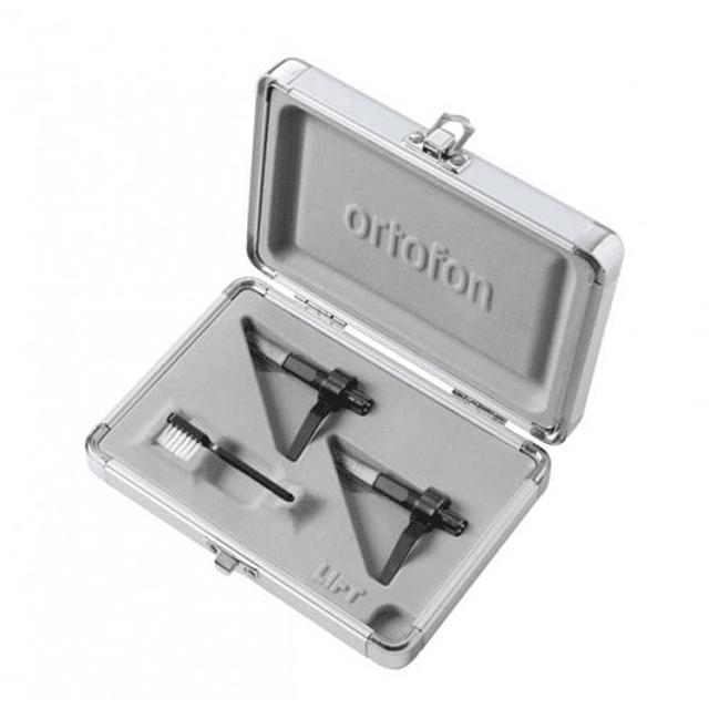 CAPSULAS ORTOFON MIX MK2 CON CASE METALICO - PAR