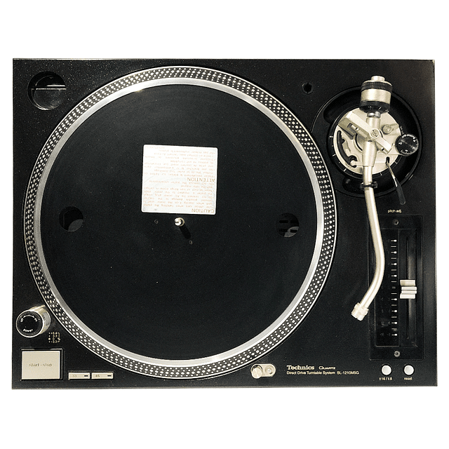 TECHNICS SL-1210 M5G CLASE B - USADA CON DETALLE