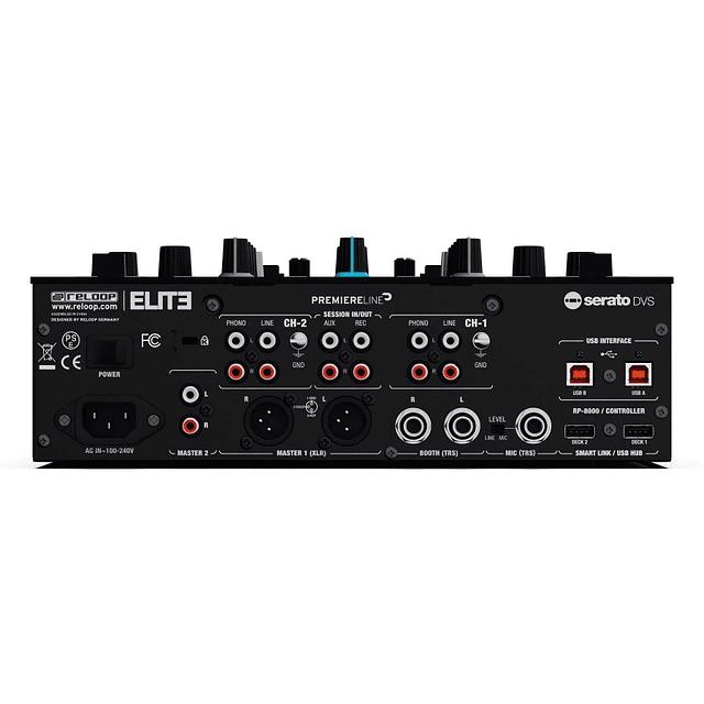 Mixer Reloop Elite incluye serato dj pro y innofader