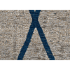 Antik Chenille Cross Azul