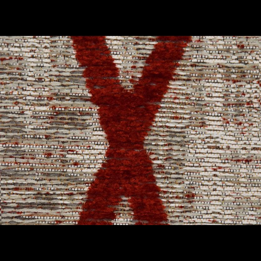 Antik Chenille Cross Red