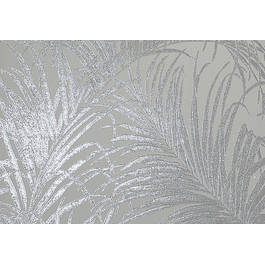 Kiss Foil Leaf Silver Grey