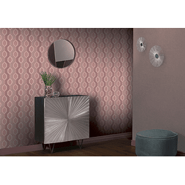 Hexagon Dusky Pink