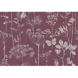 Meadow Floral Plum