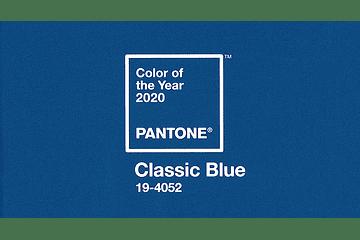 Classic Blue: A cor Pantone para 2020