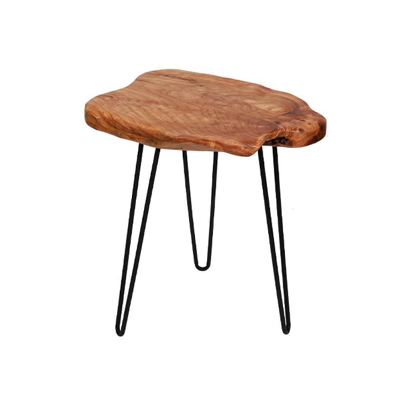 Natural Woody Side Table