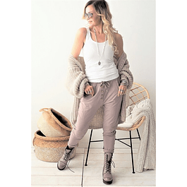 Taupe Bamboo Pants