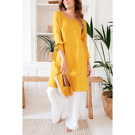 Yellow Carrie Dress