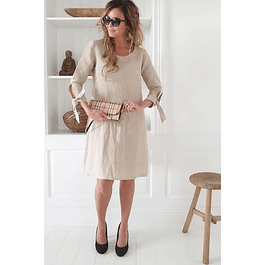 Natural Carrie Dress