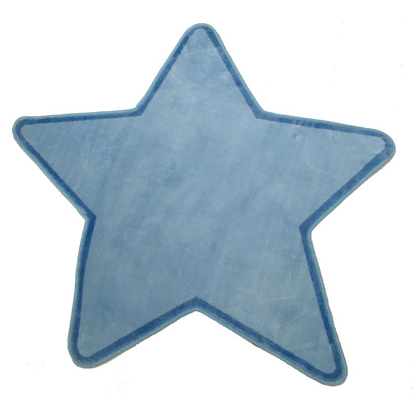 Tapete Infantil Estrela Azul