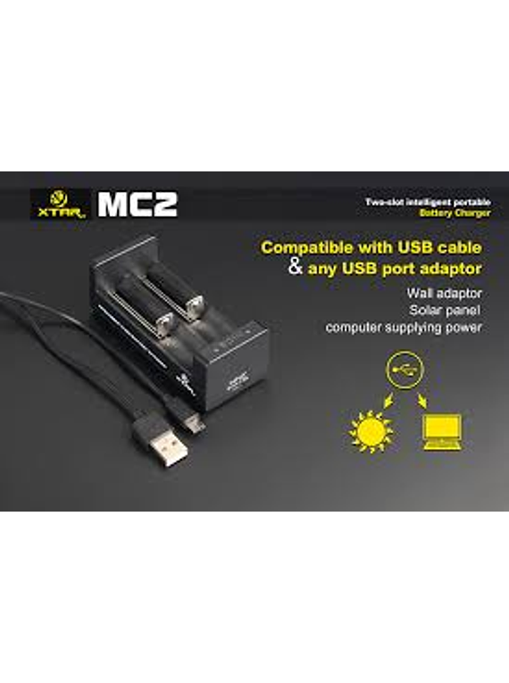 Carregador MC1 Xstar /  MC2 Xstar Light