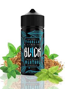 Eliquid BL4CK Tobacco 100ml