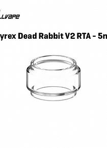 vidro Pyrex Dead Rabbit RTA V2 5ml