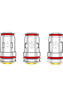 Resistencias Crown V 0.2/ 0.23 /0.3  - Uwell