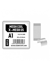 Resistencias Mesh Coil DV-03/DV-05 Damn Vape