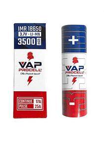 Bateria Accu IMR 18650 Power 3500mAh - Vap Procell
