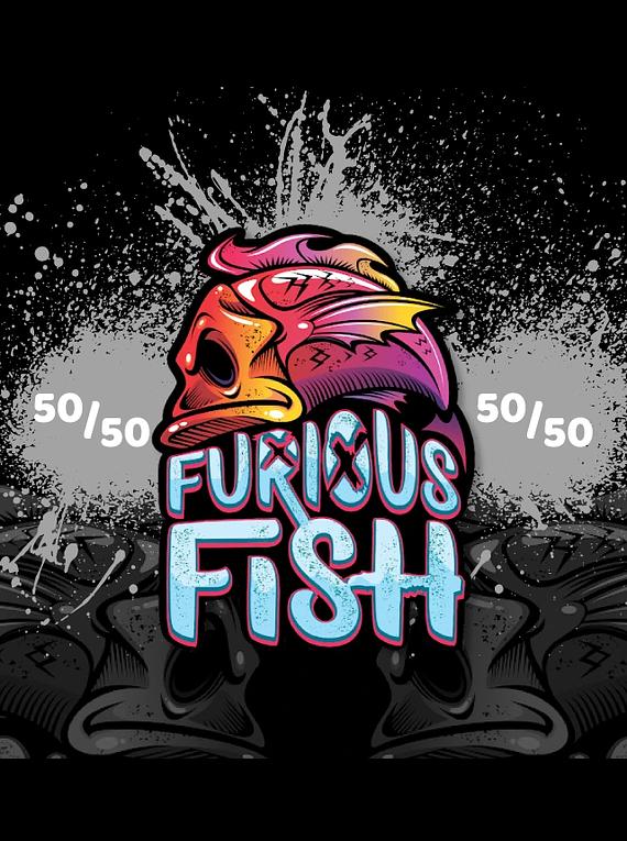 Eliquid Furious Fish 100ml sem nicotina