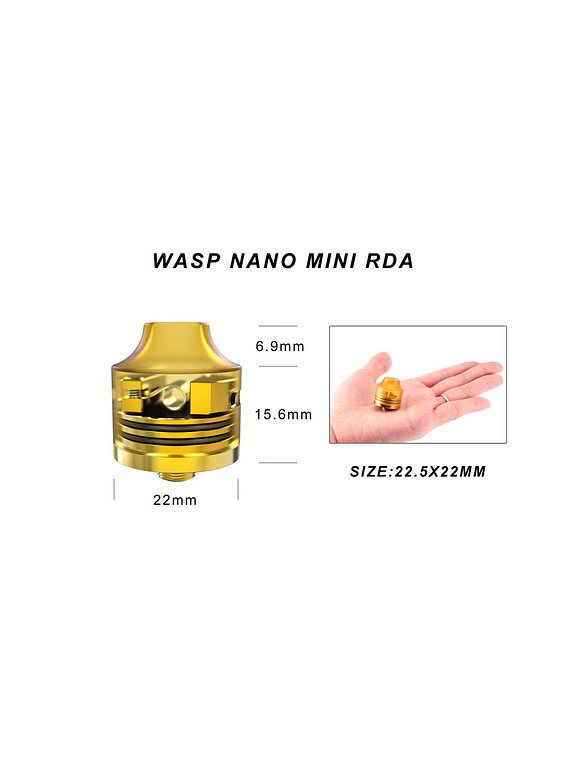 Oumier WASP NANO MINI RDA