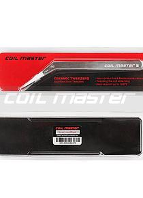 Coil Master Ceramic Tweezers (Bent)