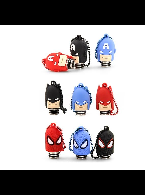 Drip tip resina 510 + capuz superheroi
