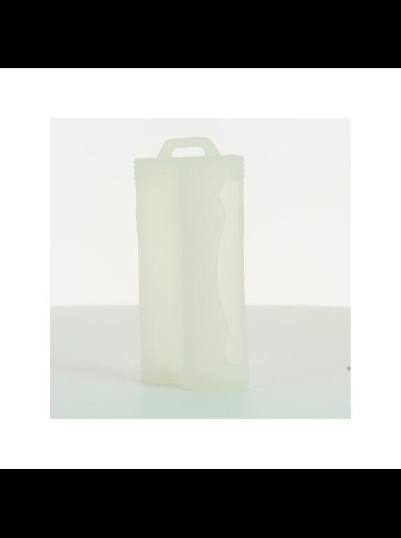 Battery Case : 1 e 2 Slot 18650  silicone bateria skin