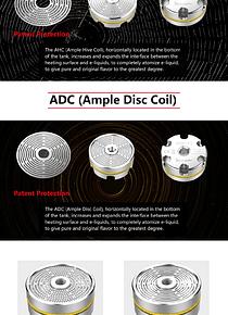 Ample Mace Subohm tank coils