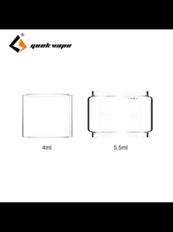 Glass Tube para Zeus Dual 4ML/5.5ML