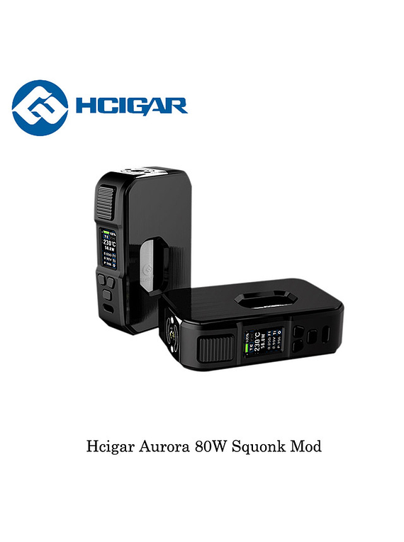 Hcigar Aurora 80W black edition