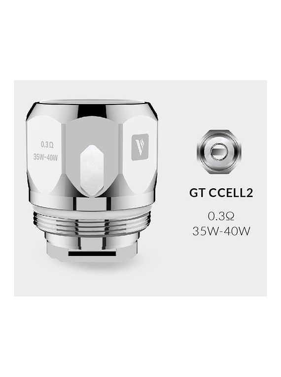 Resistencias Vaporesso GT CCELL / CCELL2 / GT MEsh / GT CORES