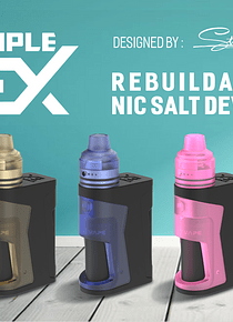 Kit Simple EX Squonk Mod 850mAh - Vandy Vape