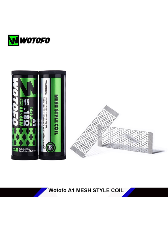 Mesh Style Coil Wotofo