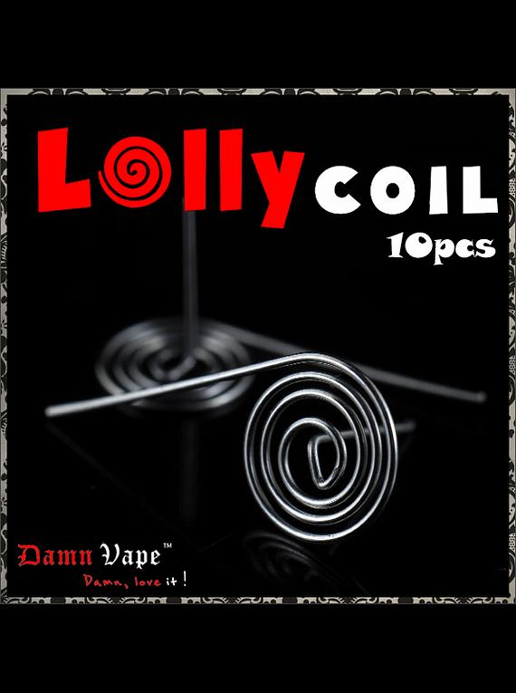 Resistencias Lolly 0.64Ω (10pcs) - Damn Vape - valeur : 0.64 ohm